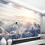 3d Tapete Himmel Wolken Fototapete Abstrakt Vlies Wand Tapete Wandbilder Wohnzimmer Schlafzimmer Kinderzimmer Dekoration Moderne Wanddeko,140x100 cm