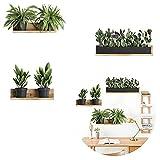 Wandaufkleber, Wandtattoos Topfpflanze selbstklebend, Grün DIY Wandaufkleber Wandbilder Wanddeko für Wohnzimmer Schlafzimmer Küche