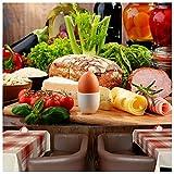 azutura Frische Bio-Zutaten Fototapete Essen & Trinken Tapete Küche Dekor Erhältlich in 8 Größen Riesig Digital