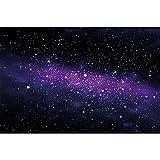 GREAT ART® Fototapete Kinderzimmer – Sterne – Wandbild Dekoration Weltraum Stars Galaxy Sky Sternenhimmel Universum Space All Kosmos Weltall Foto-Tapete Wandtapete Fotoposter (210 x 140 cm)