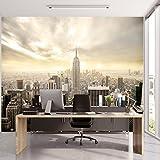 Fototapete New York 366 x 254 cm inklusive Kleister Manhattan Skyline USA Wohnzimmer Tapete