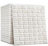 Ziegel Tapete 10 Stk 3D Stereo Aufkleber kasi Tapete Wand Dekor Aufkleber Ziegel Wasserdicht 3D Design für Heimtextilien