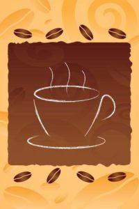 Fototapete Kaffebohnen