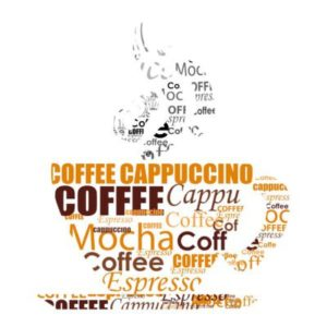Fototapete Kaffee