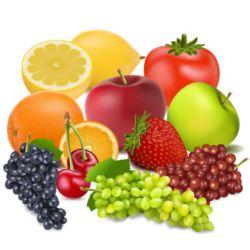 Fototapete Küche Früchte