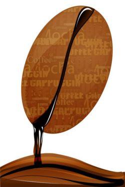 Fototapete Küche Kaffeebohne