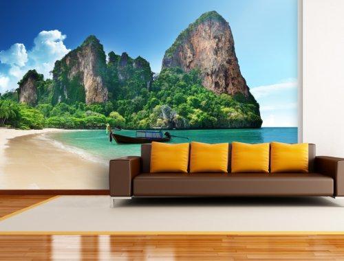 fototapete laguna in verschiedenen gren als papiertapete oder vliestapete whlbar pvc frei. Black Bedroom Furniture Sets. Home Design Ideas