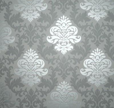 Rasch-148213-Papiertapete-Muster-Ornament-silber-grau-0