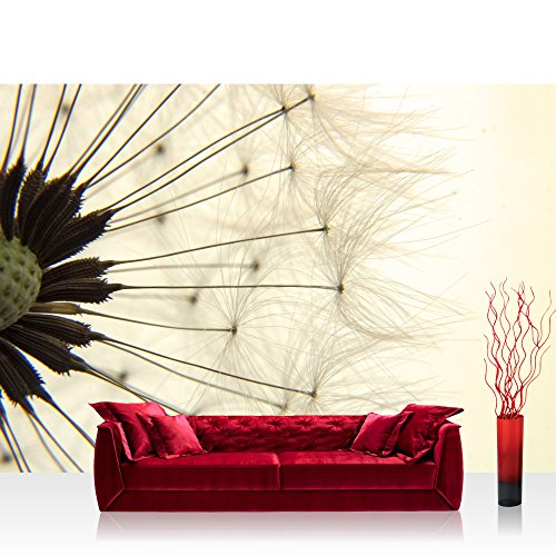 vlies fototapete natur pusteblume lwenzahn no 204 vliestapete tapete tapeten fototapeten. Black Bedroom Furniture Sets. Home Design Ideas